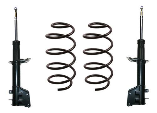 Kit Amortiguador Y Espirales Delanteros Fiat Palio / Siena