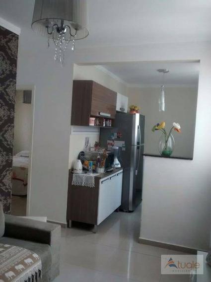 Apartamento Residencial À Venda, Loteamento Industrial Machadinho, Americana - Ap4158. - Ap4158