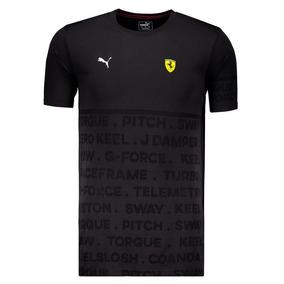 Camiseta Puma Scuderia Ferrari Evoknit Preta