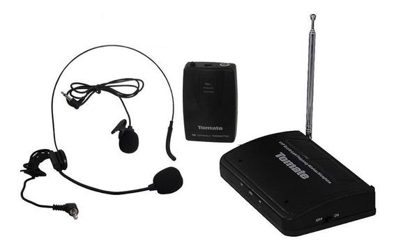 Kit com microfone Tomate MT-2201 dinâmico omnidirecional