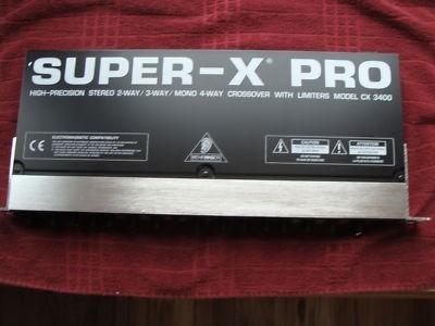 Imagen 1 de 7 de Behringer Super-x Pro Cx3400