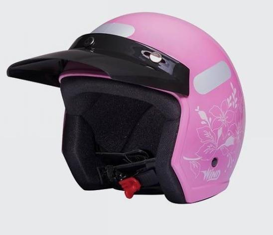 Capacete Piruzinho Taurus Wind V2 Rosa 56