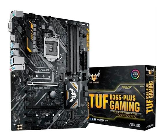 Placa Mãe Asus Tuf B365-plus Gaming Intel Lga1151 Atx Ddr4