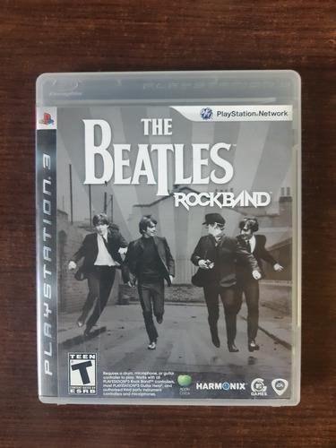Imagen 1 de 3 de The Beatles Rock Band Ps3 Fisico Usado Sinaloamdq