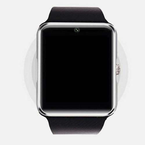 Relógio Celular Digital Sport Dourado Smartwhatch Android