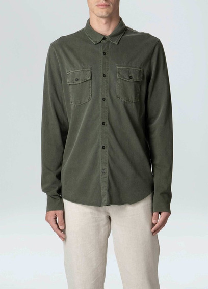 Camisa Osklen Army Pockets