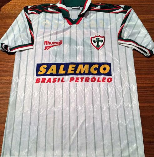 Camisa Portuguesa 1998 Usada Jogo #18 Rhummel Branca