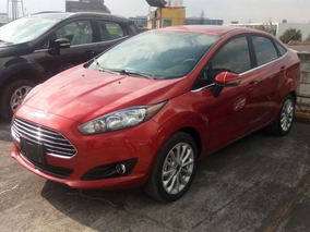 Ford Fiesta Rojo Metálico, Mecanico Titanium 2018