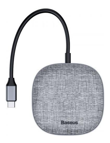 Hub Adaptador Baseus Tipo C Pd Ethernet Hdmi Sd/tf Usb3.0