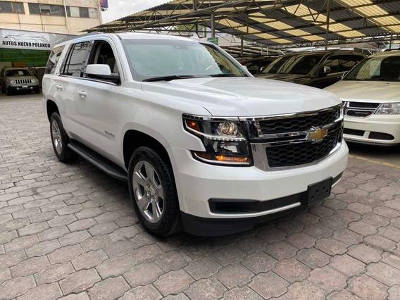 Chevrolet Tahoe 2019 5.4 Lt Piel Cubo Dvd Quemacocos