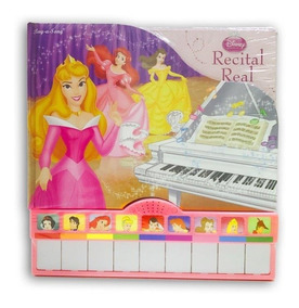Livro Recital Real Princesas Disney