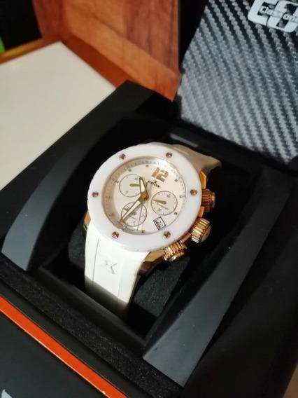Hermoso Reloj Para Dama Edox Class 1 Cerámica Swiss Made