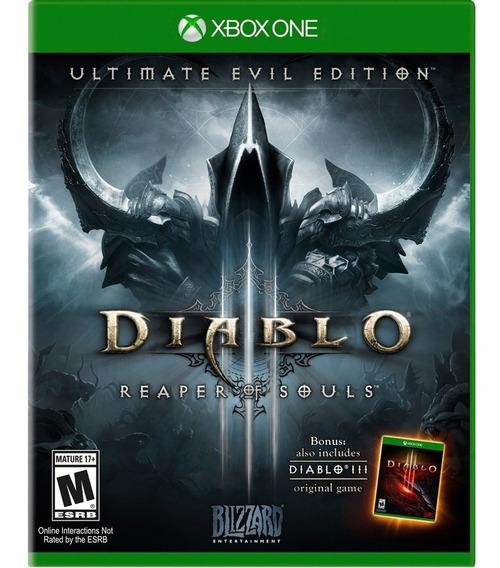 Jogo Novo Diablo 3 Reaper Of Souls Para Xbox One