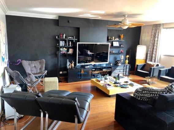 Taxa Condominial Barata/lazer Em Apartamento Com 3 Dormitórios À Venda, 167 M² Por R$ 1.690.000 - Higienópolis - São Paulo/sp - Ap54880