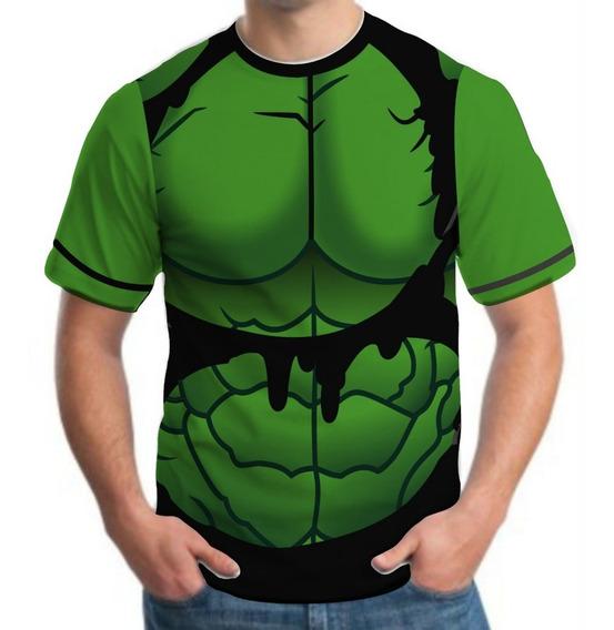 Kit 5 Camiseta Camisa Masculina Roupas Herois Black Friday