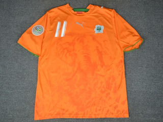 Camisa Costa Do Marfim Copa Do Mundo 2006 Drogba 11