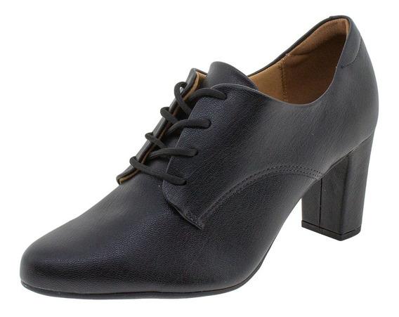 Sapato Feminino Oxford Vizzano - 1288310 Preto