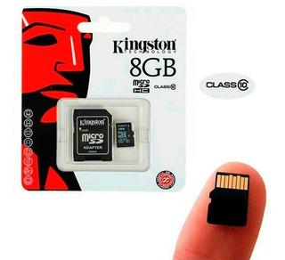 Memoria Micro Sd Kingston 8gb Class 10
