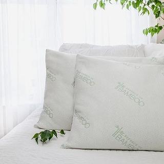 Almohadas Bamboo Paquete Con Dos Calidad Usa