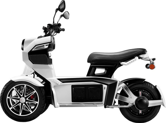 Moto Electrica Todoterreno Itank Evi3 70 Doohan (blanca)