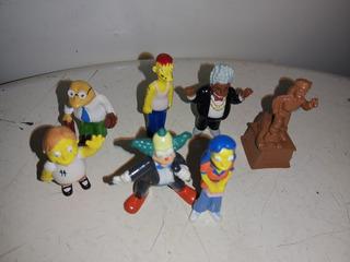 Lote De Muñecos Simpson X 7 Unidades