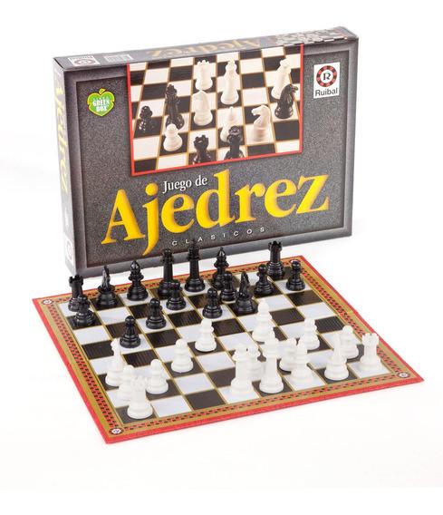 Ajedrez Green Box Juego De Mesa Original Ruibal