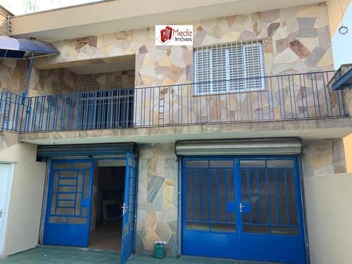 Imagem 1 de 14 de Belíssimo Imóvel Comercial Á Venda Jardim Santo Elias- 11579