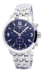 Relógio Tissot Novo Prc 200 T055.417.11.047.00 Azul Aço