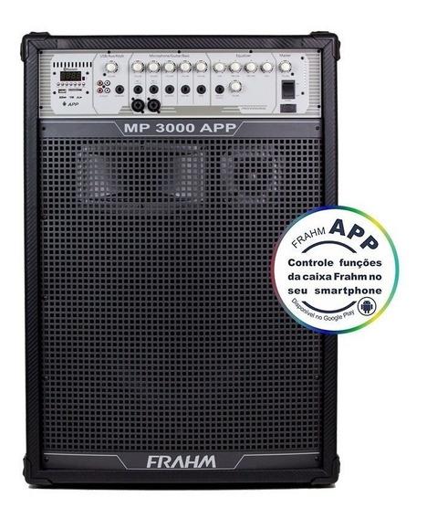 Caixa Amplificada Mp3000ap Usb/bluetooth 300w 15 Pol Frahm