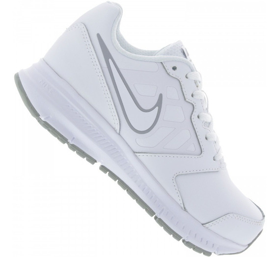 Tênis Nike Downshifter 6 Ltr Couro Original Preto 34 A 38 Nf