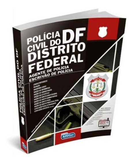 Policia Civil Do Distrito Federal - Agente De Policia E Escr
