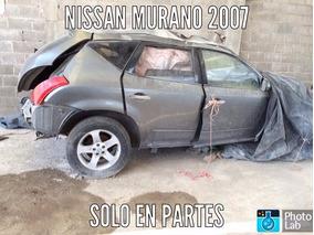 Desarmo En Partes Nissan Murano 4x4 2007 3.5 Aut. Yonke