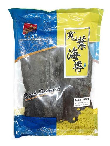 Alga Kombu Seca En Plancha  X 500 Gr Origen: China