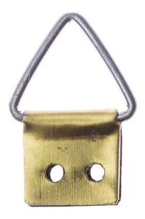Triangulo Pequeno Pendurador 100 Peças + Parafusos 2,2 X 6,5