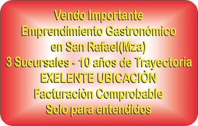 Exelente Local Gastronòmico El Mejor En Su Rubro En La Zona!