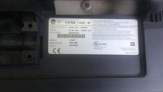 Carcaça Monitor L1942p