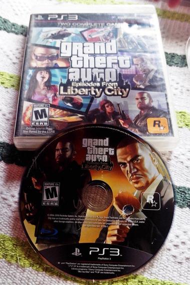 Grand Theft Auto: Liberty City Ps3