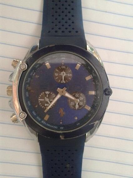 Relógio Masculino Azul No Estado