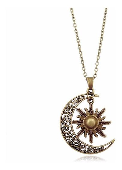 Collar Soy Luna Y Sol Tipo Soy Luna Moon