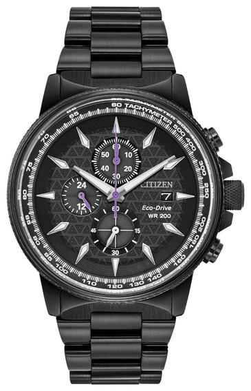 Relogio Citizen Marvel Black Phanter Edição Limitada