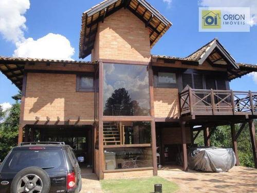 Chácara Com 3 Dormitórios À Venda, 40000 M² Por R$ 14.000.000,00 - Quintas Do Ingaí - Santana De Parnaíba/sp - Ch0044