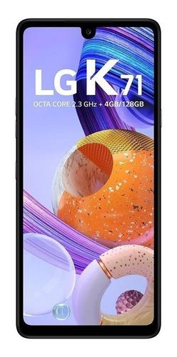 Imagem 1 de 9 de LG K71 Dual SIM 128 GB white 4 GB RAM