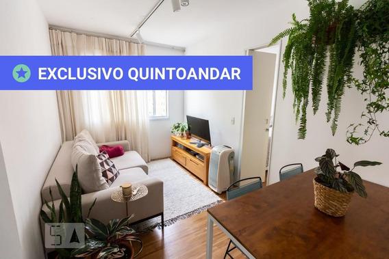 Apartamento No 12º Andar Com 1 Dormitório - Id: 892959248 - 259248