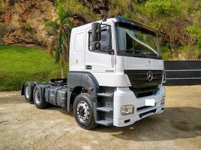 Mercedes Benz, Axor 2540, Teto Baixo, 2008/2008, Branco!!!