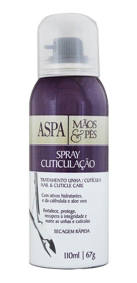 Spray Para Cuticulação 110ml - Aspa