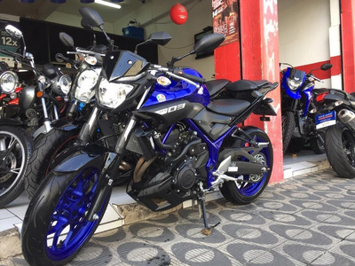 Yamaha Mt 03 Abs Ano 2020 Azul