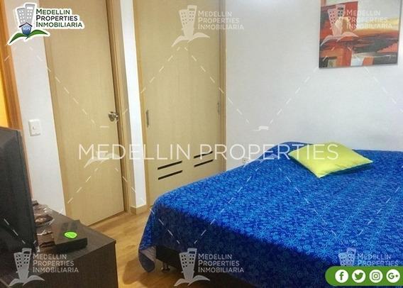 Apartamentos Amoblados Economicos En Envigado Cód: 4890
