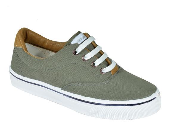 Zapatillas Náuticas Panchas Con Cordón - 39 A 45 Wembly (80)