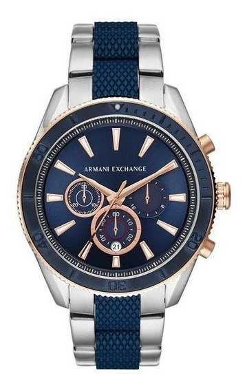 Relógio Armani Exchange Masculino Enzo Bicolor Ax1819/1kn