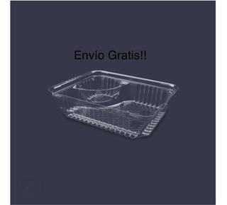 Contenedor De Plástico Para Nachos 500 Piezas.